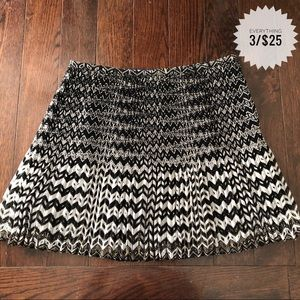 Women's MADEWELL pleated patterned skirt